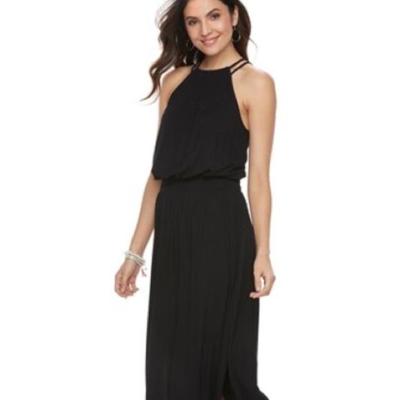 Apt. 9 Dresses & Skirts - Apt 9 kohl's maxi dress black size medium